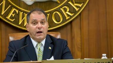 Town of Oyster Bay Supervisor Joseph Saladino during