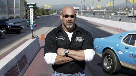 Bill Goldberg, is the host of The History