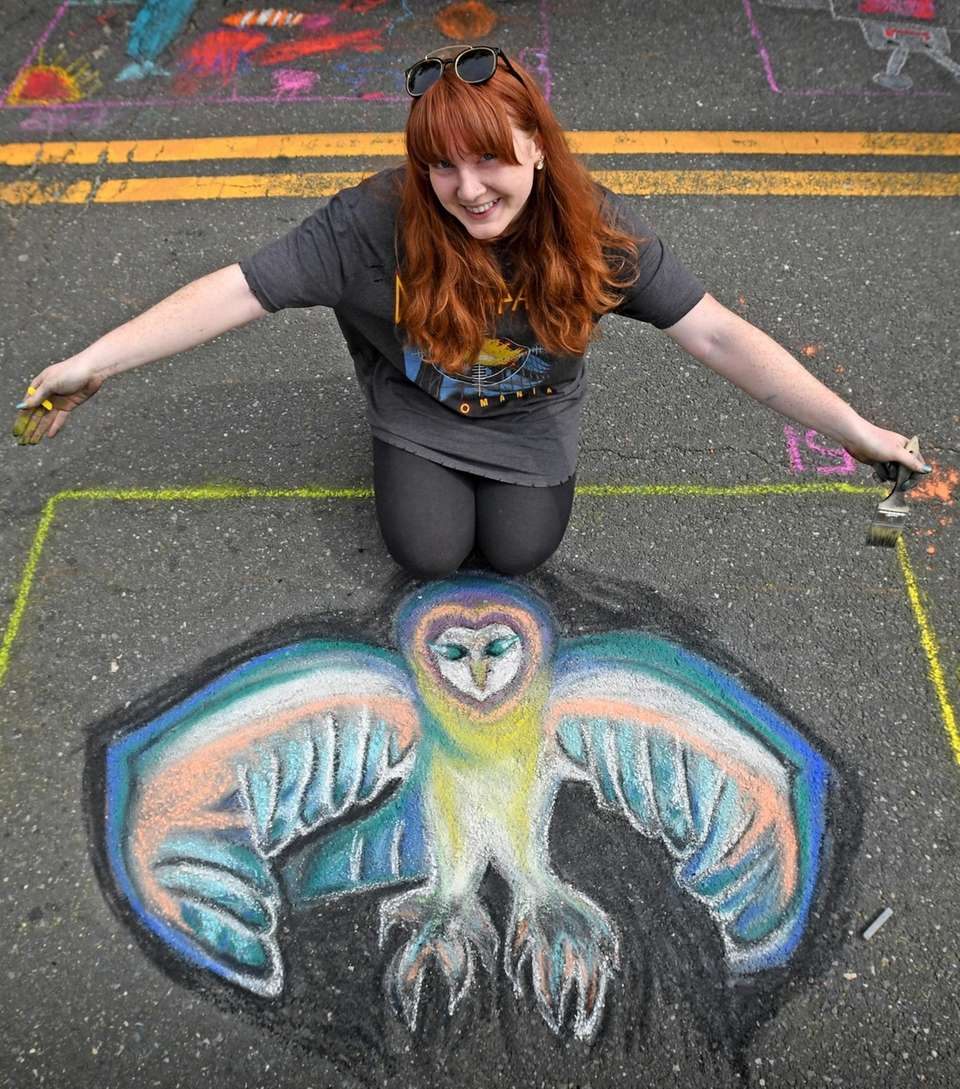 Walsh, 25, spreads her wings with her striking