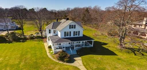 The three-bedroom, two-bathroom Center Moriches home has few