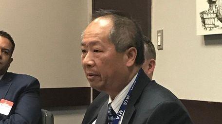 LIRR president Phil Eng.