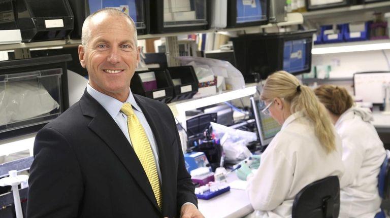John J. Sperzel, CEO of Chembio Diagnostics, in