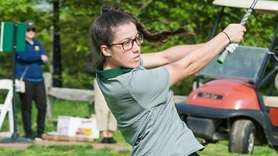 Locust Valley's Meghan Meehan tees off at the