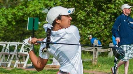 Syosset's Malini Rudra tees off at the first