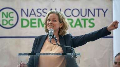 Nassau County Executive Laura Curran, shown, will nominate