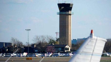Republic Airport in East Farmingdale is seen in