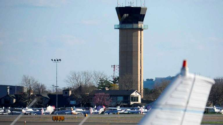 Republic Airport in East Farmingdale is seen in