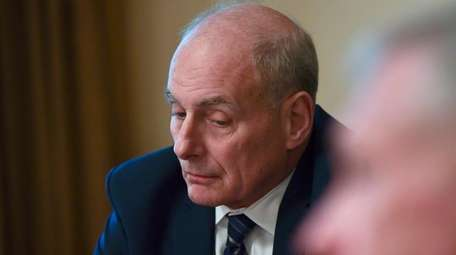 White House chief of staff John Kelly, seen
