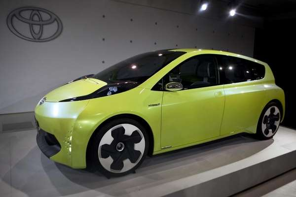Toyota Motor Corp.'s FT-CH compact hybrid concept car