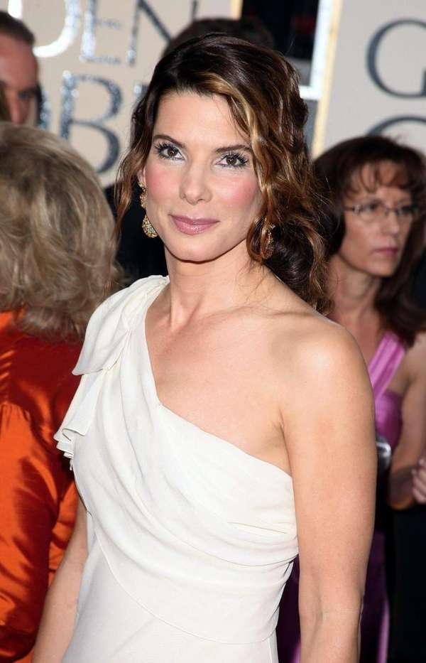 Actress Sandra Bullock arrives at the 66th Annual