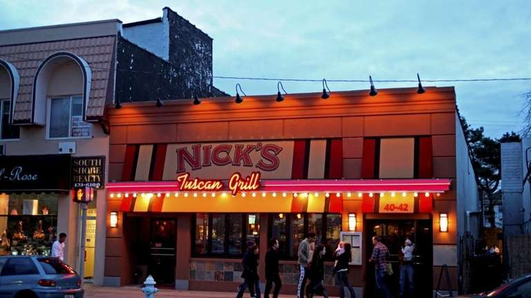 Nick's Tuscan Grill in Long Beach has closed.