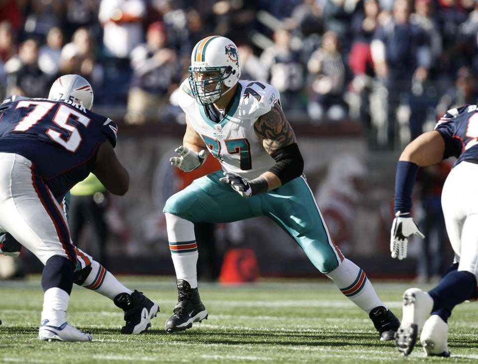 2008: JAKE LONG, OT, Miami Dolphins Long made