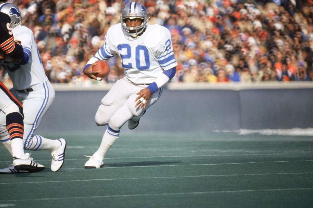 1980: BILLY SIMS, RB, Detroit Lions A knee