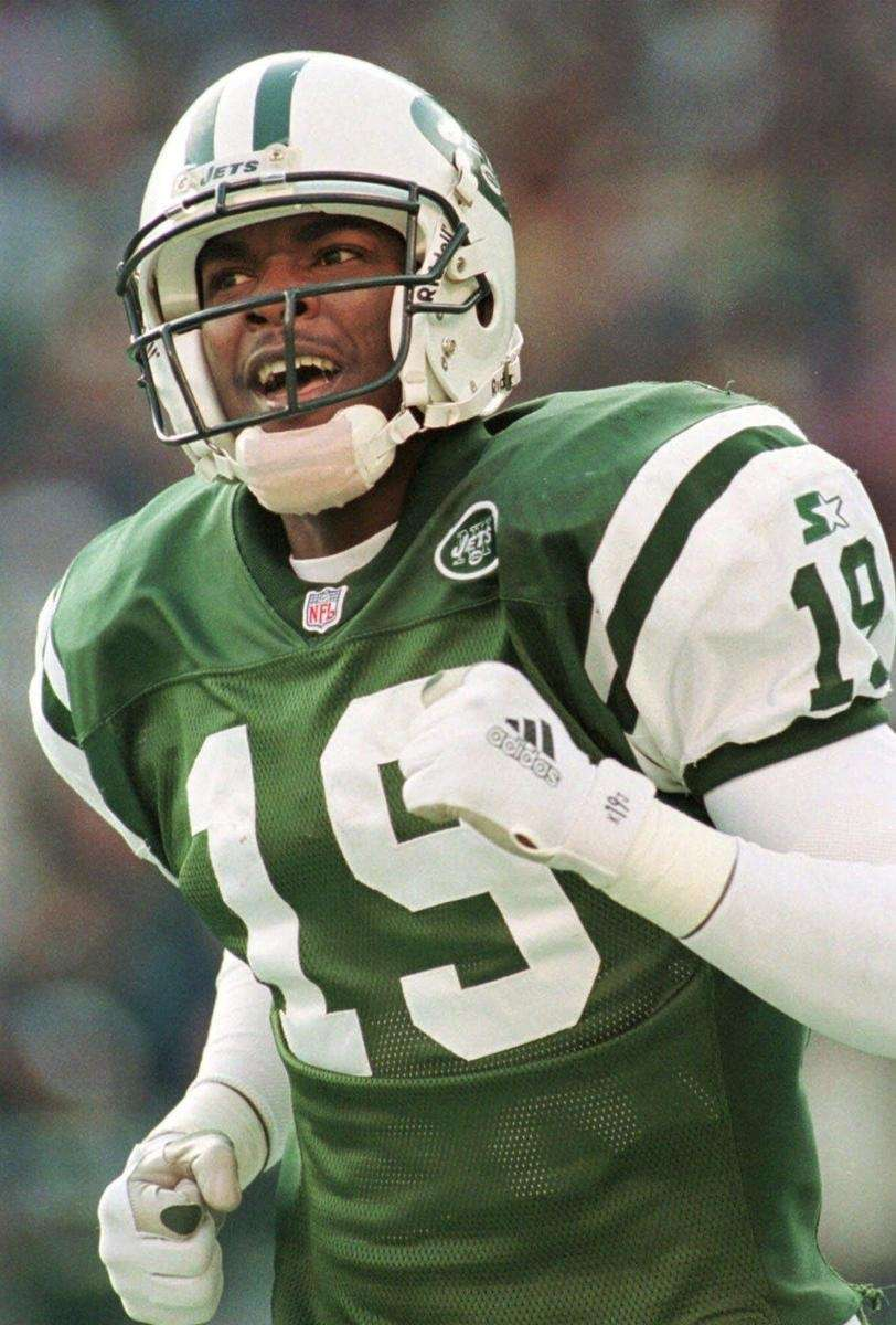 1996: KEYSHAWN JOHNSON, WR, New York Jets Controversial,