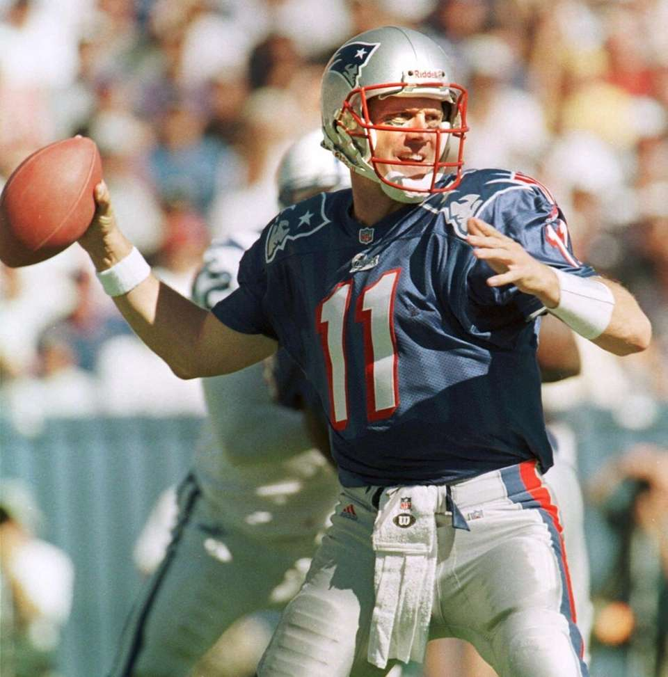 1993: DREW BLEDSOE, QB, New England Patriots Played