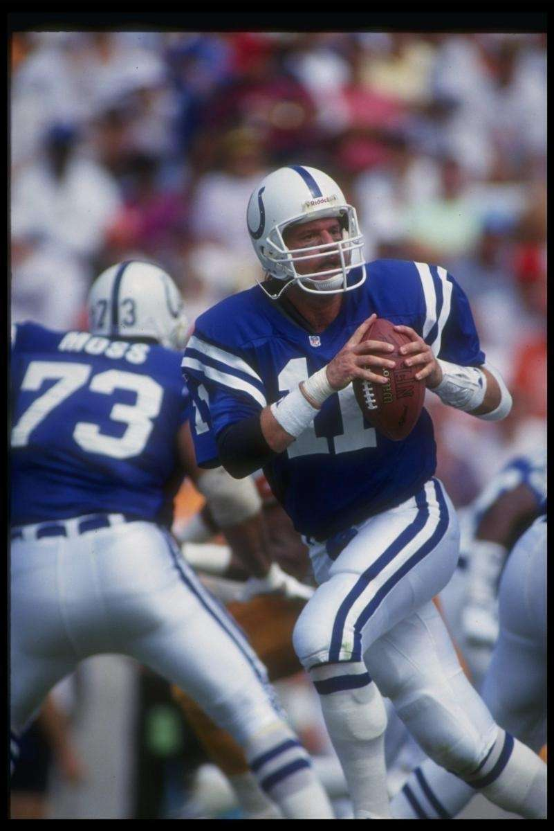 1990: JEFF GEORGE, QB, Indianapolis Colts Was 46-78