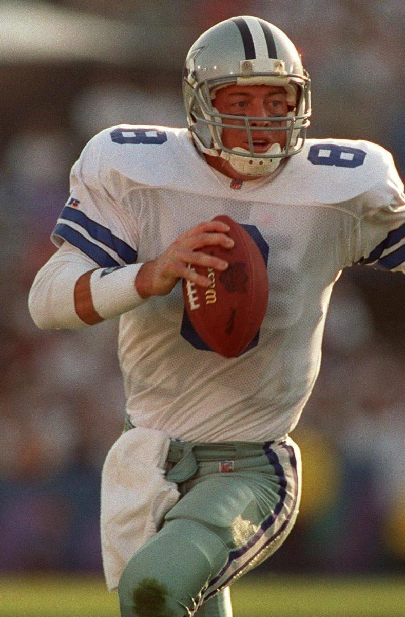 1989: TROY AIKMAN, QB, Dallas Cowboys Gets knocked