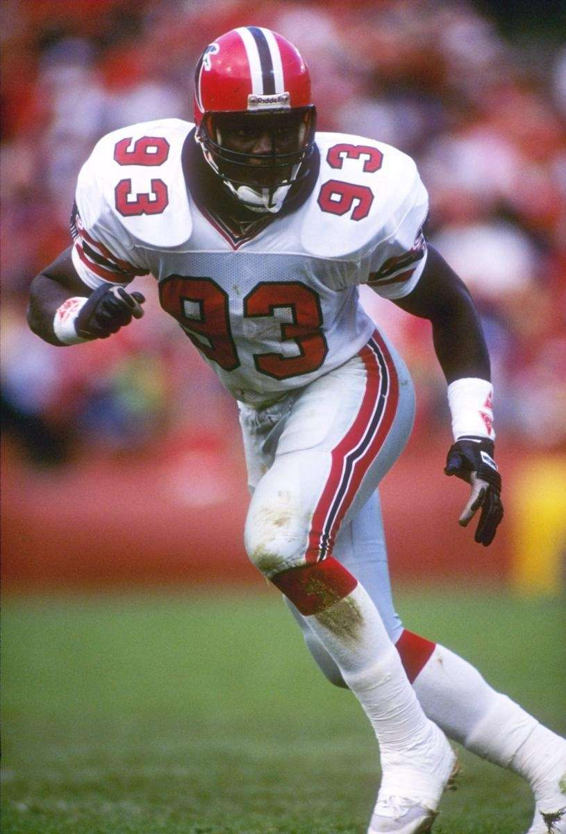 1988: AUNDRAY BRUCE, LB, Atlanta Falcons Played 11