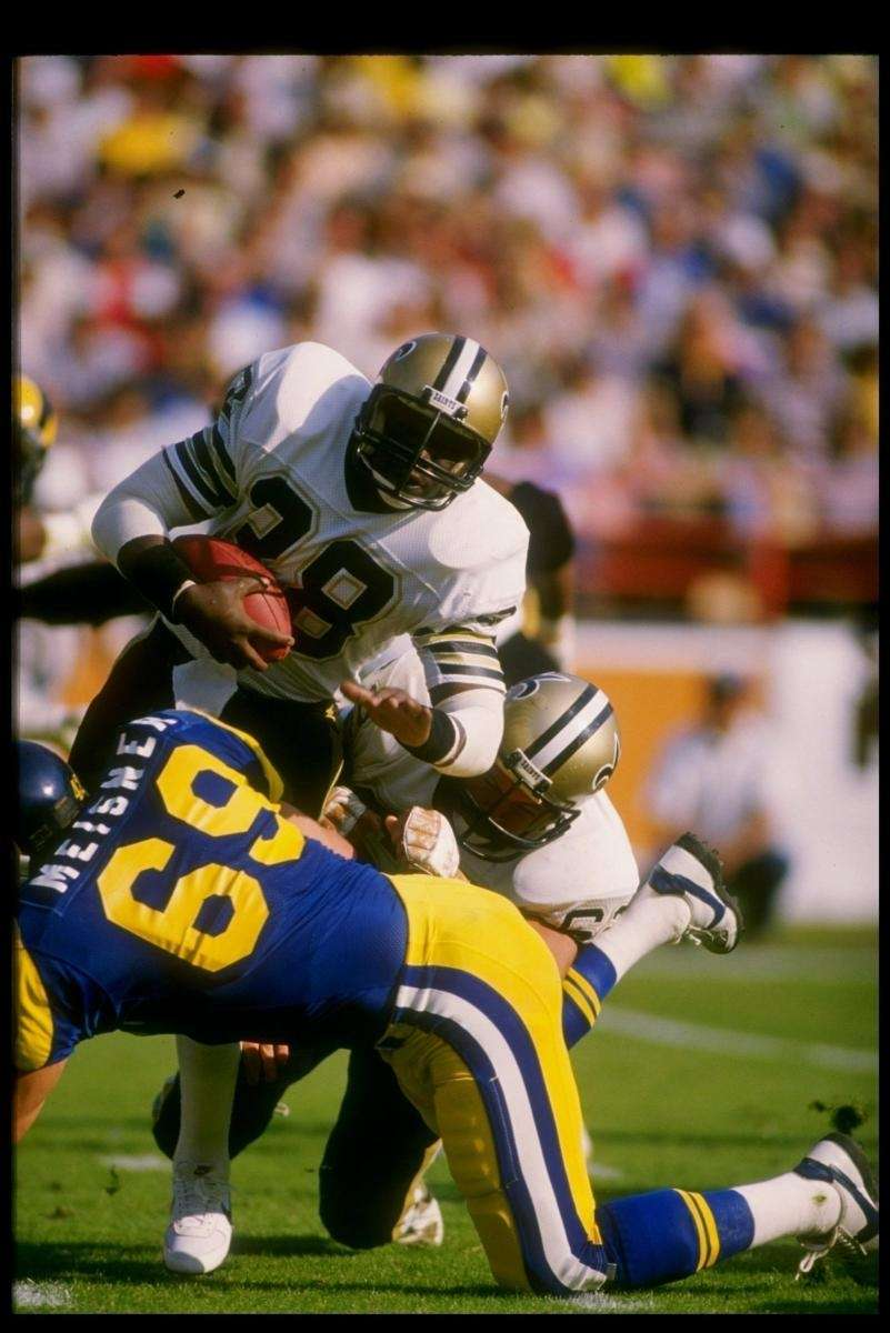 1981: GEORGE ROGERS, RB, New Orleans Saints As