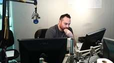 Brian Monzo produces Mike Francesa's radio show on