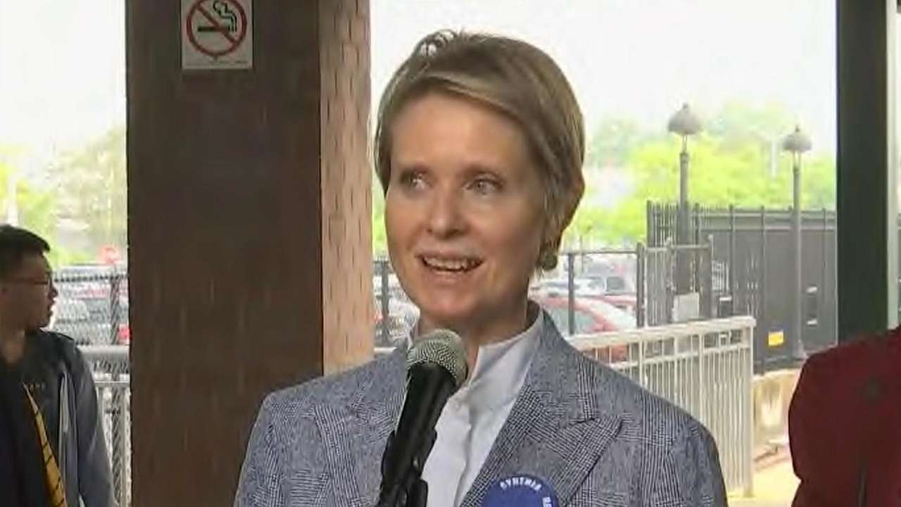 Cynthia Nixon discussed her challenge to Gov. Andrew