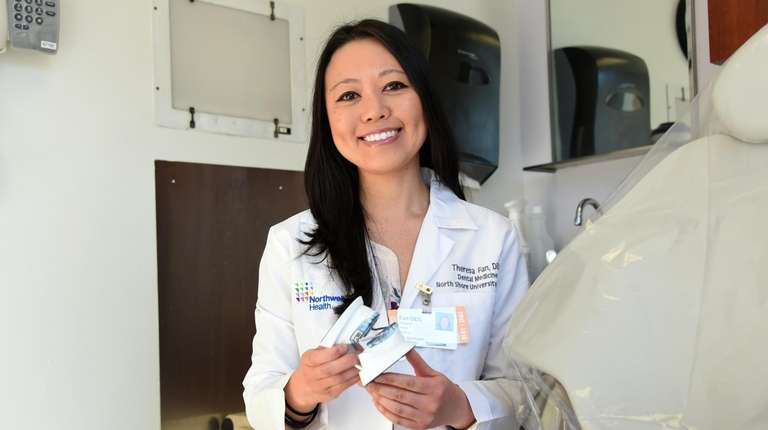Dr. Theresa Fan, 39, who works in the