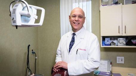 Dr. Alan Kantro runs his own dental practice