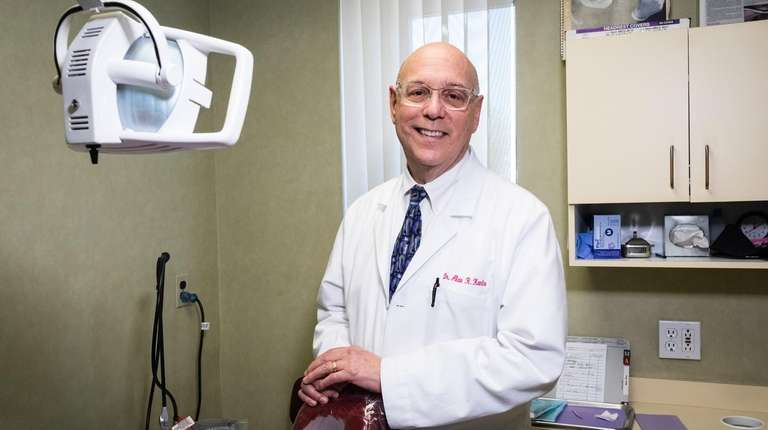 Dr. Alan Kantro runs his own dental practice