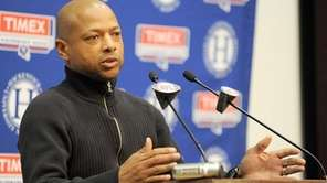 Giants general manager Jerry Reese took a conservative