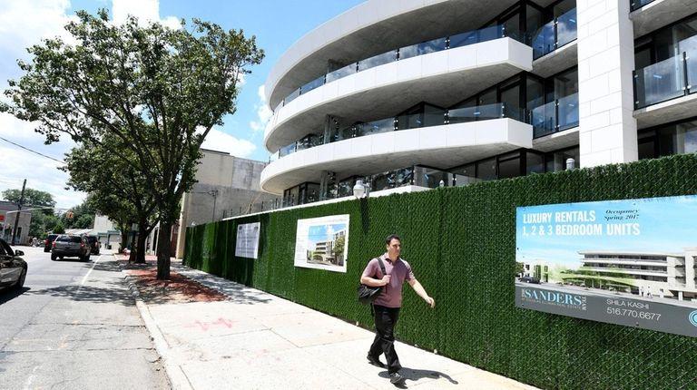 Great Neck Plaza Mayor Jean Celender cited the