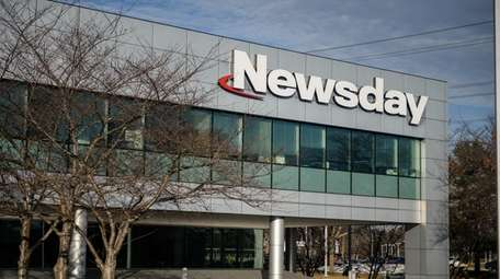 Newsday's headquarters in Melville, seen here on Feb.
