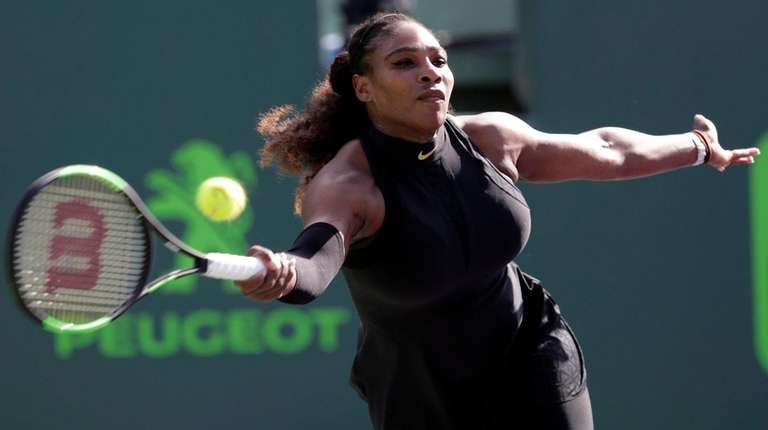 Serena Williams makes a return against Naomi Osaka
