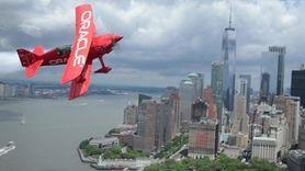 Sean D. Tucker, a legendary aerobatic stunt pilot,