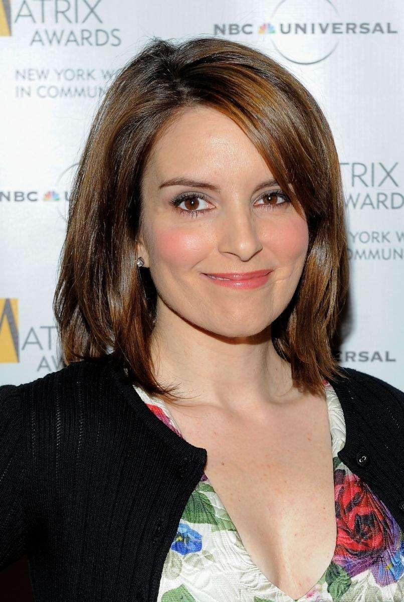 NEW YORK - APRIL 19: Comedian Tina Fey