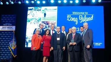 State officials and members of the Long Island