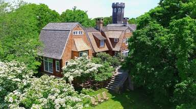 Christie Brinkley's 20-acre Bridgehampton estate, Tower Hill, is