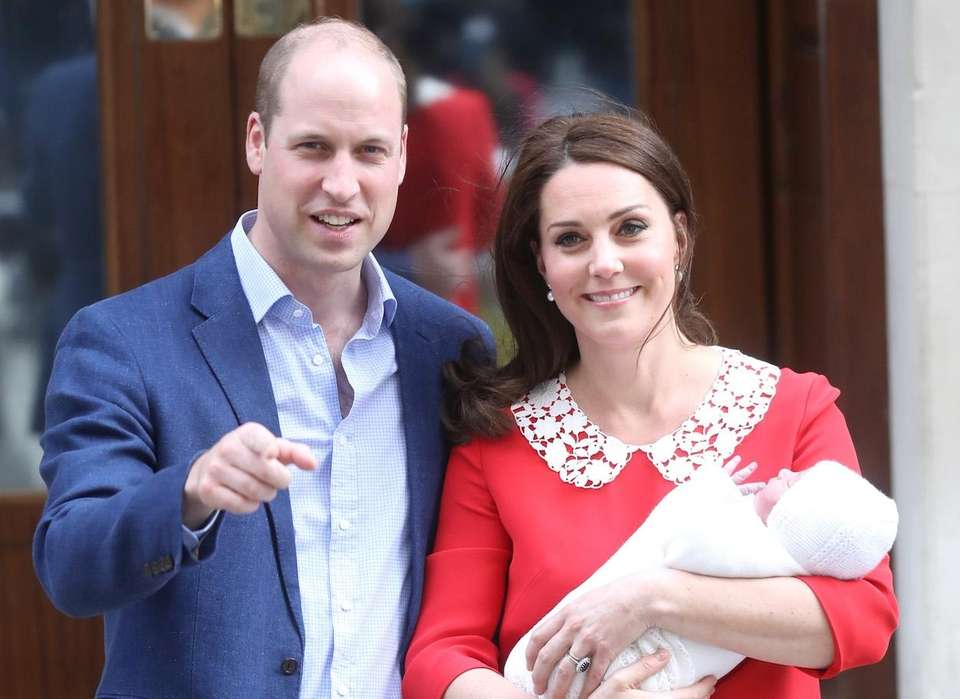 Parents: Prince William, Duke of Cambridge and Kate,