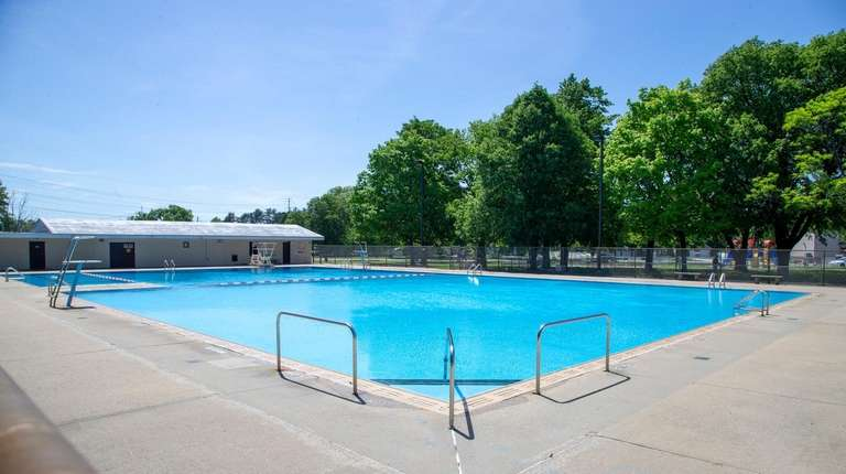Levittown's East Village Green Pool and Park, shown