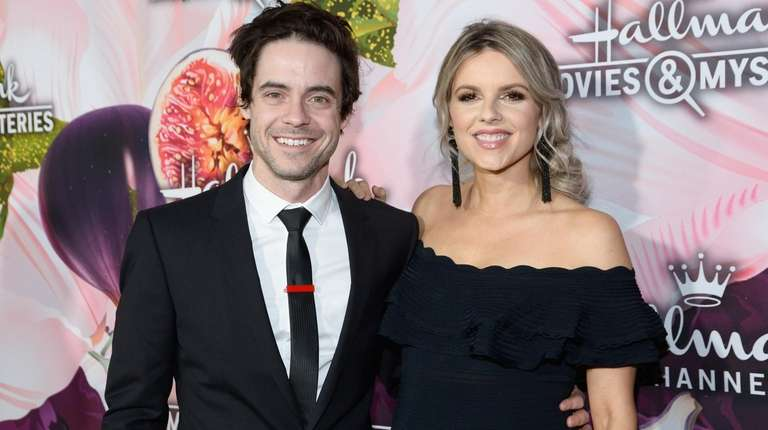 Ali Fedotowsky and Kevin Manno at the Hallmark
