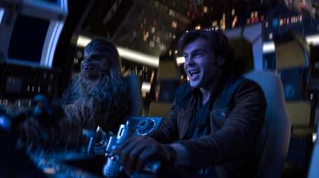 In this image released by Lucasfilm, Alden Ehrenreich,