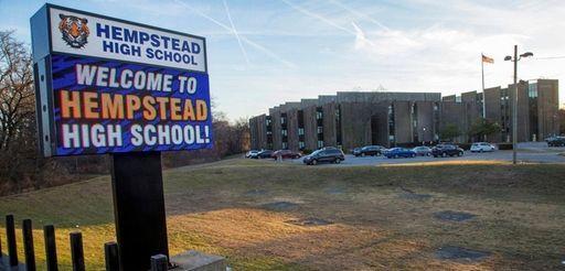 Hempstead High School, shown Feb. 13.
