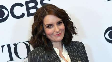 Tina Fey attends a Tony Awards event in