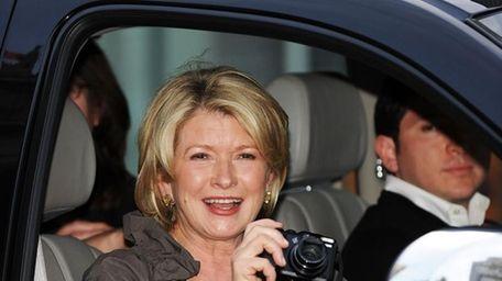 NEW YORK - APRIL 20: Martha Stewart attends