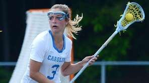 University of North Carolina women's lacrosse player Jamie
