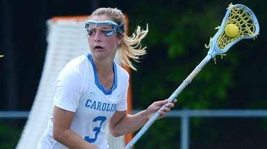 University of North Carolina women's lacrosse player Jamie