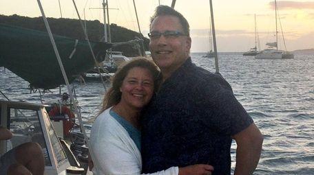 Mary Beth and Richard Dark of Farmingville will