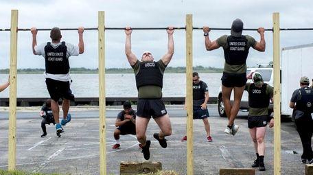 The Murph Challenge, at Jones Beach, takes place
