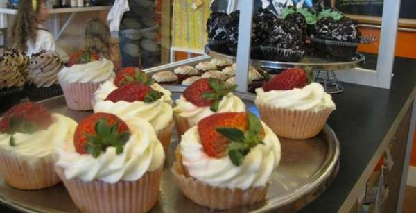 Cupcakes at Butta'Cakes in Greenport