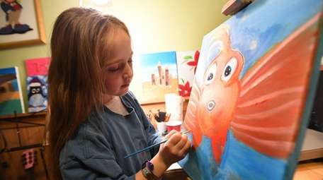 The artist's brush with kindness lets her raise