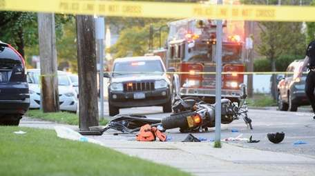 A motorcyclist died after an accident on May